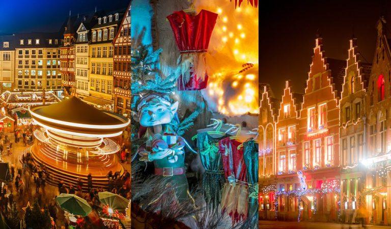 استمتع بمشاهدة أجواء الكريسماس وتوجه إلى عالم مليء باللحظات السحرية في أحد أكبر أسواق الكريسماس في هولندا وبلجيكا وألمانيا.